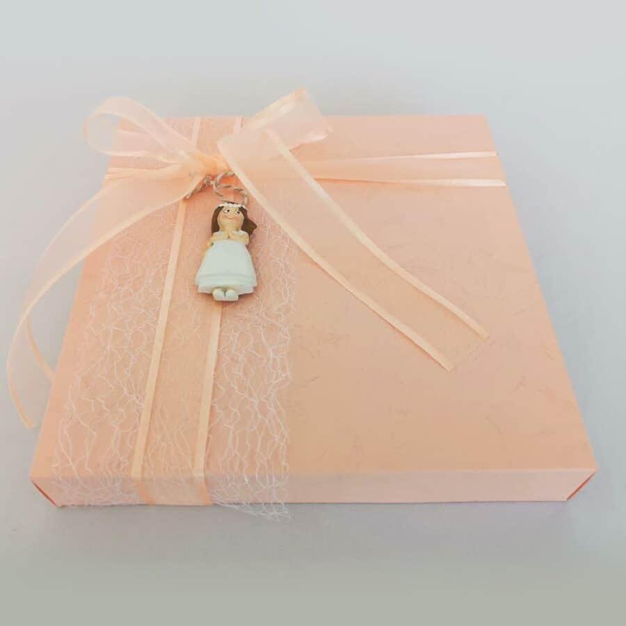 Caja de chuches rosa