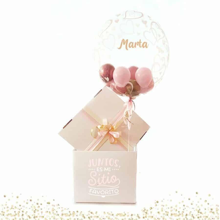 Balloon-box-personalizado-rosa