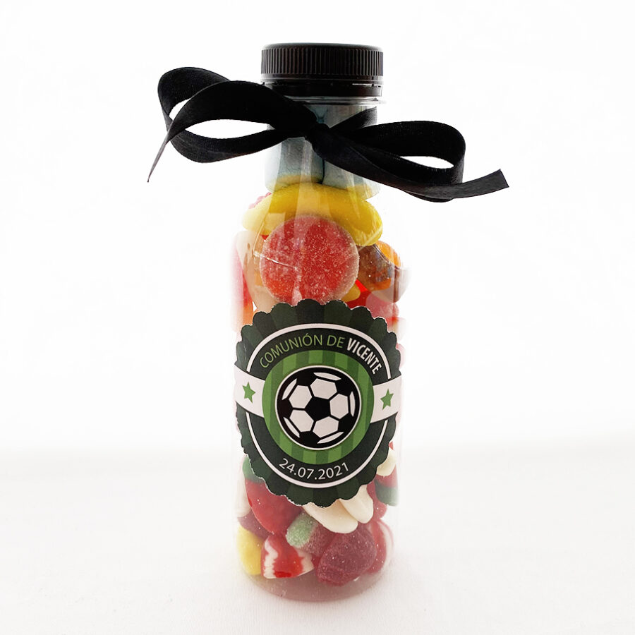 botella-de-chuches-regalo-comunion-futbol